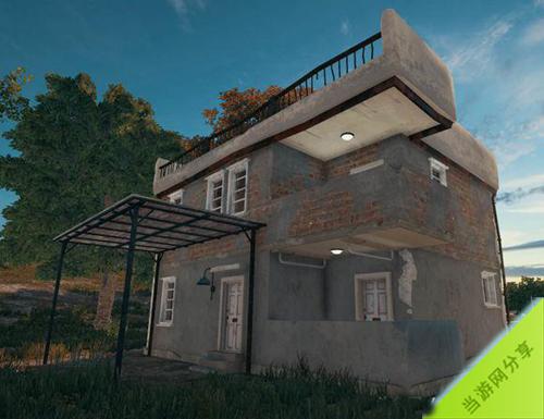 绝地求生无敌楼是什么 双阳台平房位置及资源状况介绍