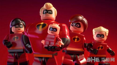乐高超人总动员游戏宣传图