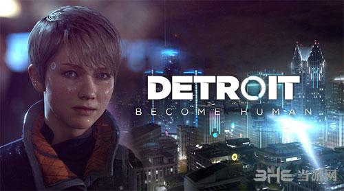 底特律:变人游戏宣传封面