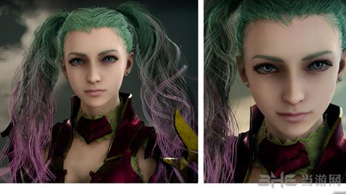 最终幻想15漂亮小姐姐捏脸图片1