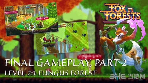狐狸森林关卡展示截图1