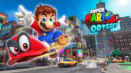 超级马里奥奥德赛游戏图片1