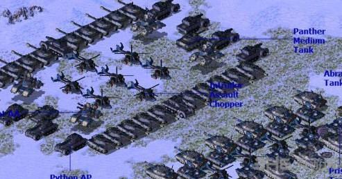 红色警戒2尤里的复仇冬季风暴来临mod截图2