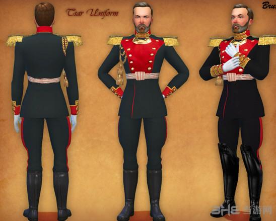 模拟人生4欧洲皇家贵族服装mod