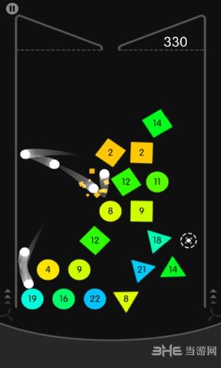 物理弹球无限加球版截图1