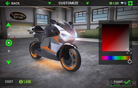 终极摩托车模拟器破解版截图2