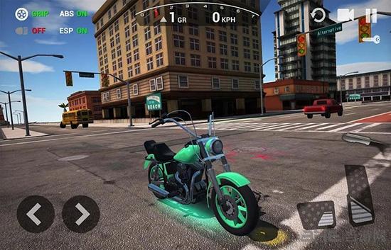 终极摩托车模拟器破解版截图0