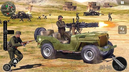 前线战争生存游戏截图1