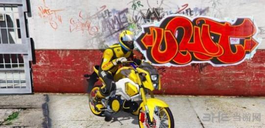 侠盗猎车手5本田Msx125SF摩托车MOD截图0