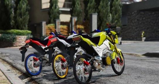 侠盗猎车手5本田Msx125SF摩托车MOD截图2