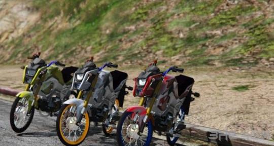 侠盗猎车手5本田Msx125SF摩托车MOD截图4