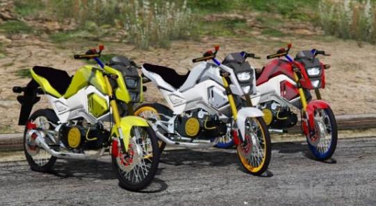 侠盗猎车手5本田Msx125SF摩托车MOD截图3