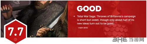 全面战争不列颠IGN评分