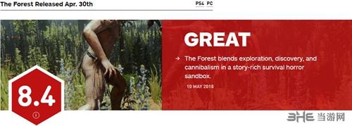 森林IGN评分