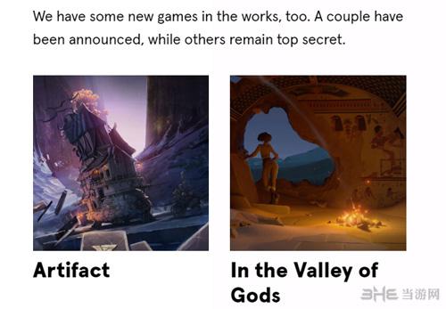 V社Artifact和众神之谷
