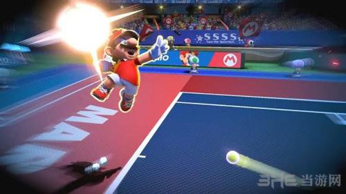 马里奥网球ACES游戏画面1