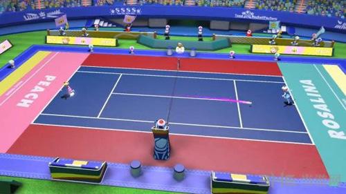 马里奥网球ACES游戏画面2