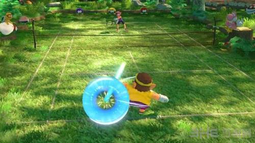 马里奥网球ACES游戏画面3