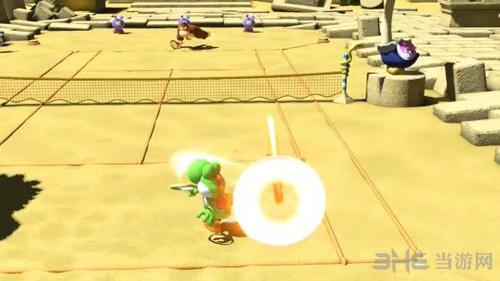 马里奥网球ACES游戏画面4