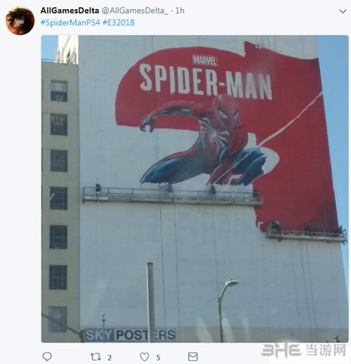 蜘蛛侠墙绘