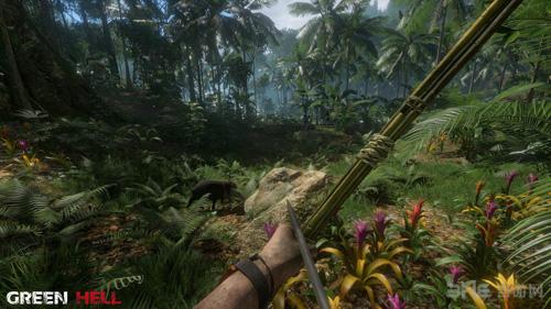 绿色地狱游戏画面