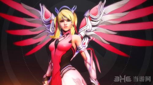 守望先锋粉红天使皮肤1