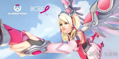 守望先锋粉红天使海报