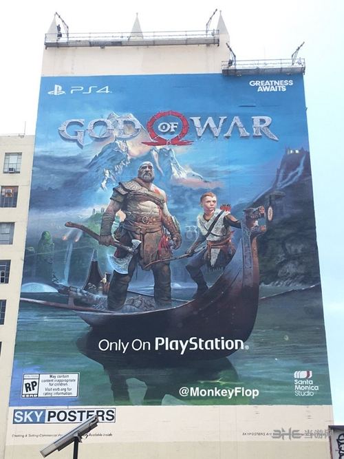 E3战神4海报图片