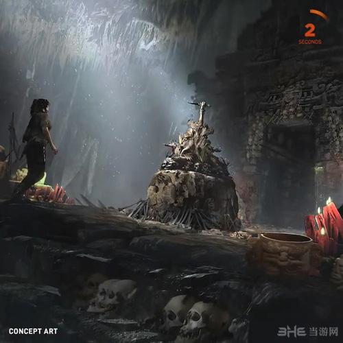 古墓丽影暗影概念图3