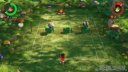 马里奥网球Ace游戏截图4