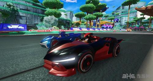组队索尼克赛车游戏截图3