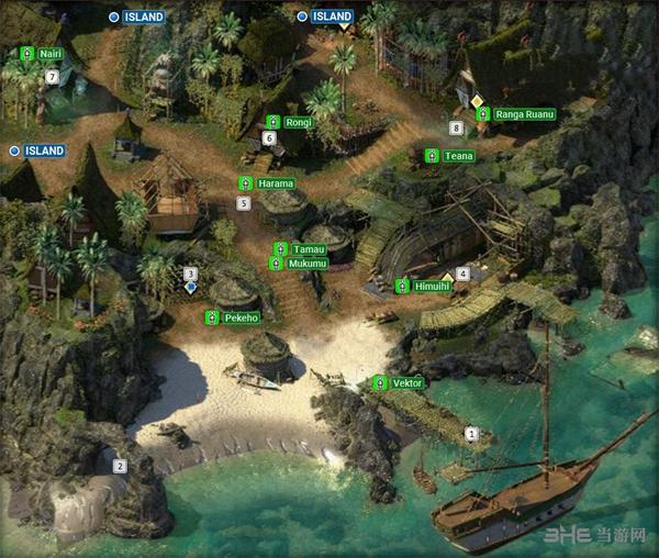 永恒之柱2提卡瓦拉地图