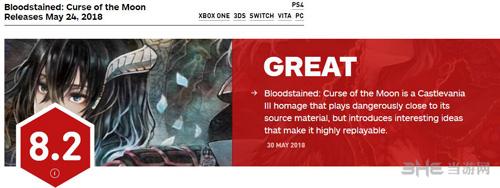 血污月之诅咒IGN评分