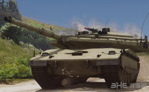 侠盗猎车手5梅卡瓦主战坦克MOD截图1