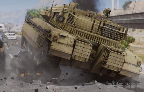 侠盗猎车手5梅卡瓦主战坦克MOD截图3