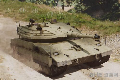 侠盗猎车手5梅卡瓦主战坦克MOD截图2
