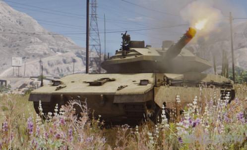 侠盗猎车手5梅卡瓦主战坦克MOD截图4