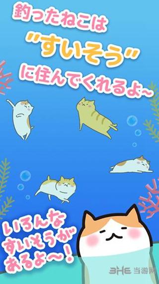 猫咪垂钓截图1
