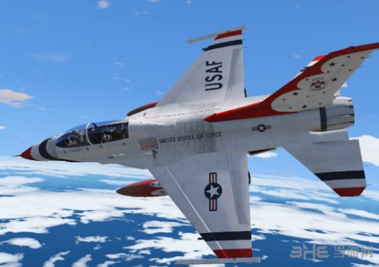 侠盗猎车手5 F-16D战斗机 MOD截图0