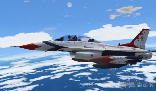 侠盗猎车手5 F-16D战斗机 MOD截图3