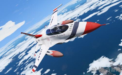侠盗猎车手5 F-16D战斗机 MOD截图2