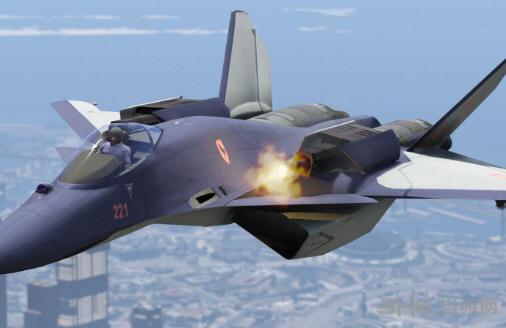 侠盗猎车手5 皇牌空战CFA-44战机  MOD截图0