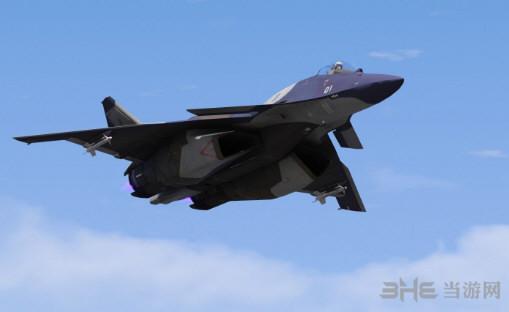 侠盗猎车手5 皇牌空战CFA-44战机  MOD截图3