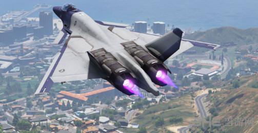 侠盗猎车手5 皇牌空战CFA-44战机  MOD截图4