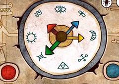 迷失岛指针怎么解 金字塔时钟红色指针方向使用攻略