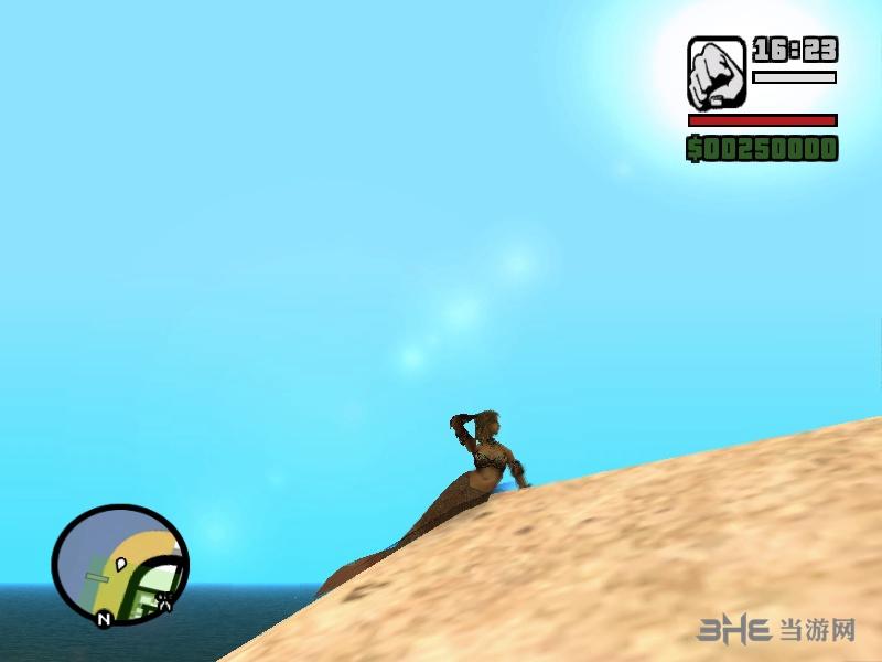 侠盗猎车手:圣安地列斯美人鱼mod图片