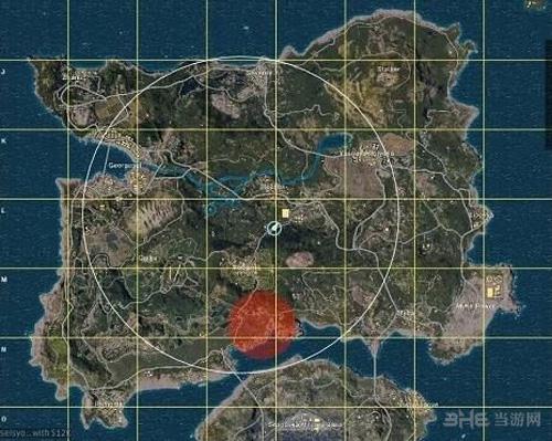 绝地求生8*8地图