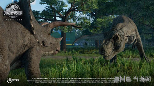 侏罗纪世界:进化游戏宣传图