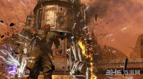 红色派系:游击战重制版游戏宣传图