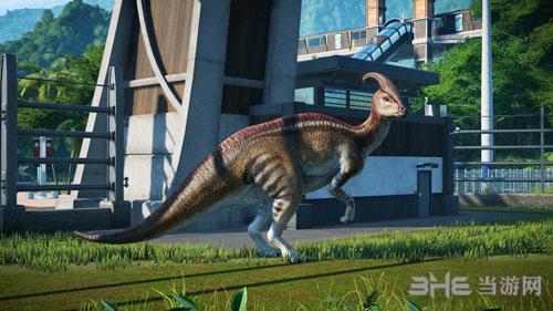 侏罗纪世界进化游戏宣传图